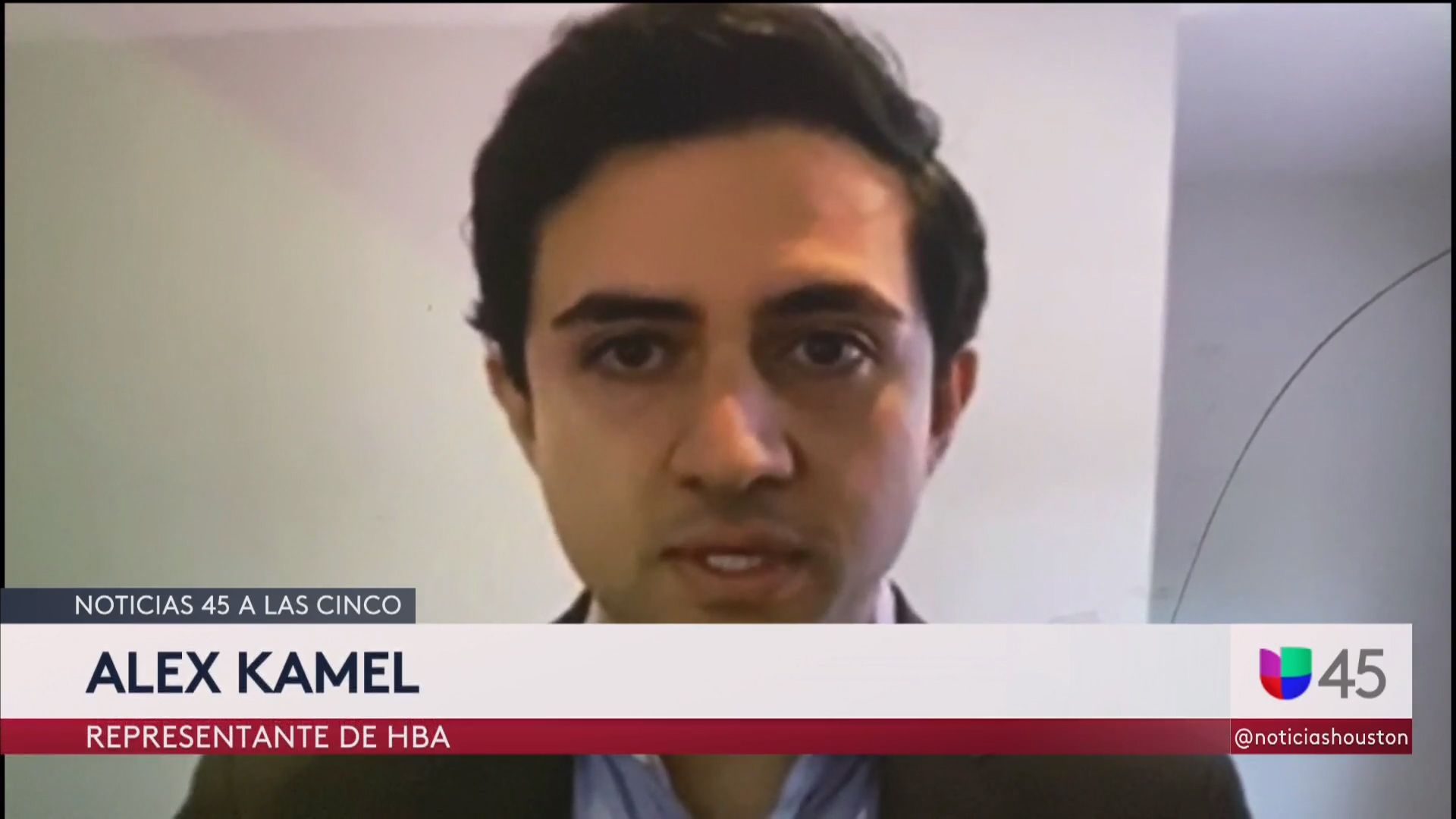Alex Kamel on Univision