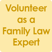 Volunteer as a family law expert
