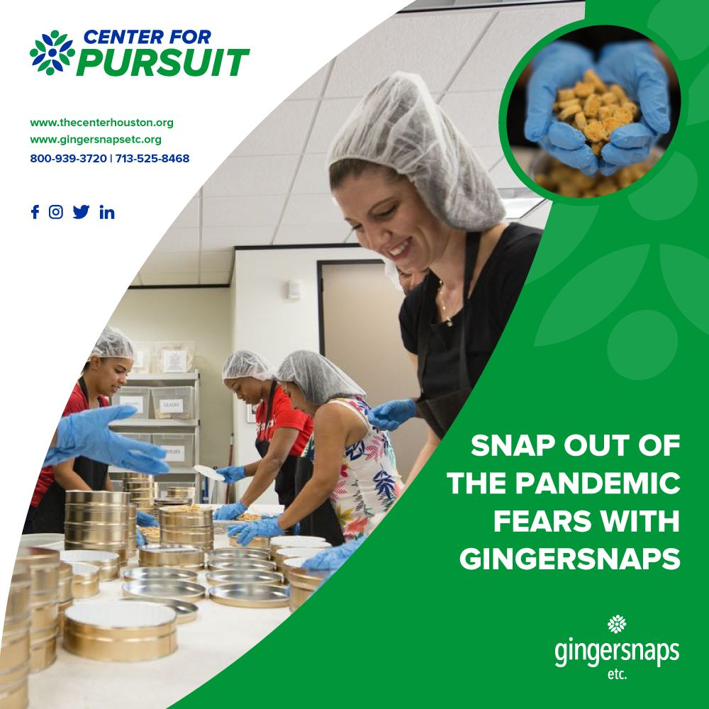 Advertisement for Gingersnaps Etc
