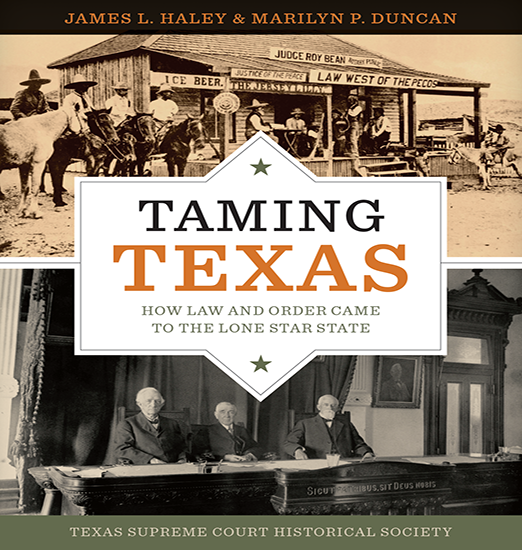 Taming Texas book cover